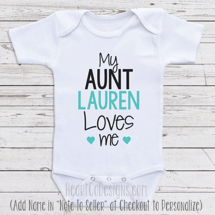 The 25 best personalized baby clothes ideas on pinterest personalized baby clothes my aunt loves me by newbornbabyclothes negle Gallery