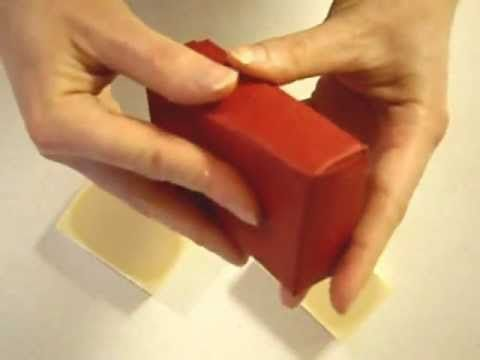 How to make a Paper Soap Box - Low Cost Packaging Project Idea  Why couldn't I have found this BEFORE I made ill-fitting boxes for the craft fair tomorrow!