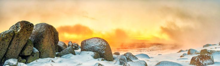 Neige d'Orange, Snowy Mountains, Australia, by Timothy Poulton