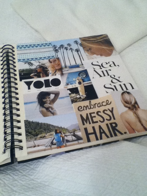 i will make journals, take pictures, and never forget a second.