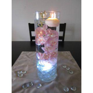 centro de mesa con luz led adorno de salon pinterest