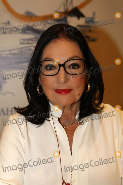 Oct. 10, 2011 - Athens, Greece - The famous Greek singer NANA MOUSKOURI presents her new cd ''Nana Mouskouri and Friends'' with traditional songs from Greek islands. The cover has been designed by her good friend, Jean Paul Gaultier. (Credit Image:  Aristidis Vafeiadakis/ZUMAPRESS.com)