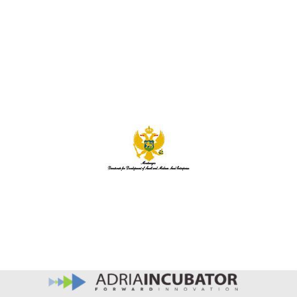 Montenegro Directorate for Development of Small and Medium Sized Enterprises partner of adriaincubator