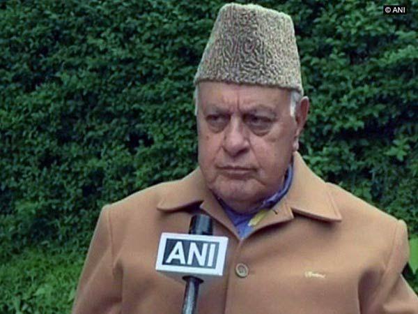 Kashmir issue must be addressed politically: Farooq Abdullah