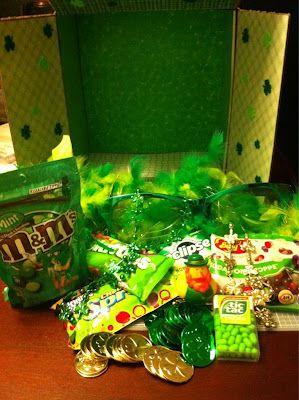 St. Patrick's Day Care Package sent by The Young Retiree