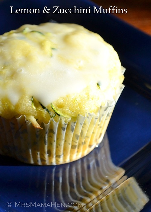 Lemon & zucchini muffins - I can't wait to try these!