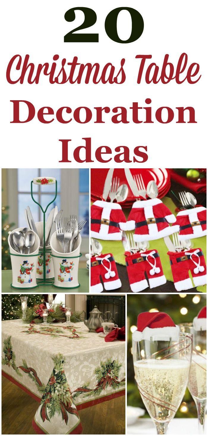 Decorating Ideas For Table Christmas 2020 Table Decor For Christmas Buffet 2020 | Qmrgbm