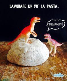Quandofuoripiove: La ricetta dei fossili di dinosauro fai-da-te per apprendisti paleontologi