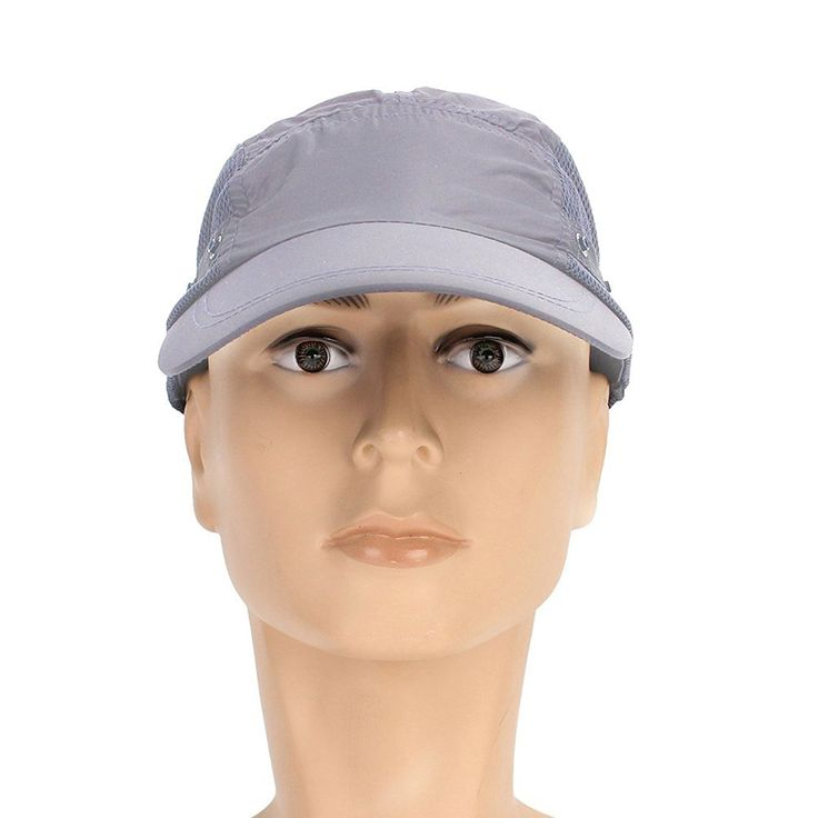 Amazon | LiTi uvカット 帽子 取り外し可能 アウトドア 農作業 ガーデニング紫外線対策に 超軽量 速乾 防水 (グレー) | アウトドア 帽子 通販