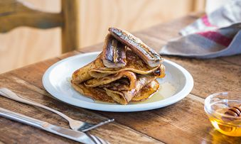 American Style Weet-Bix Pancakes