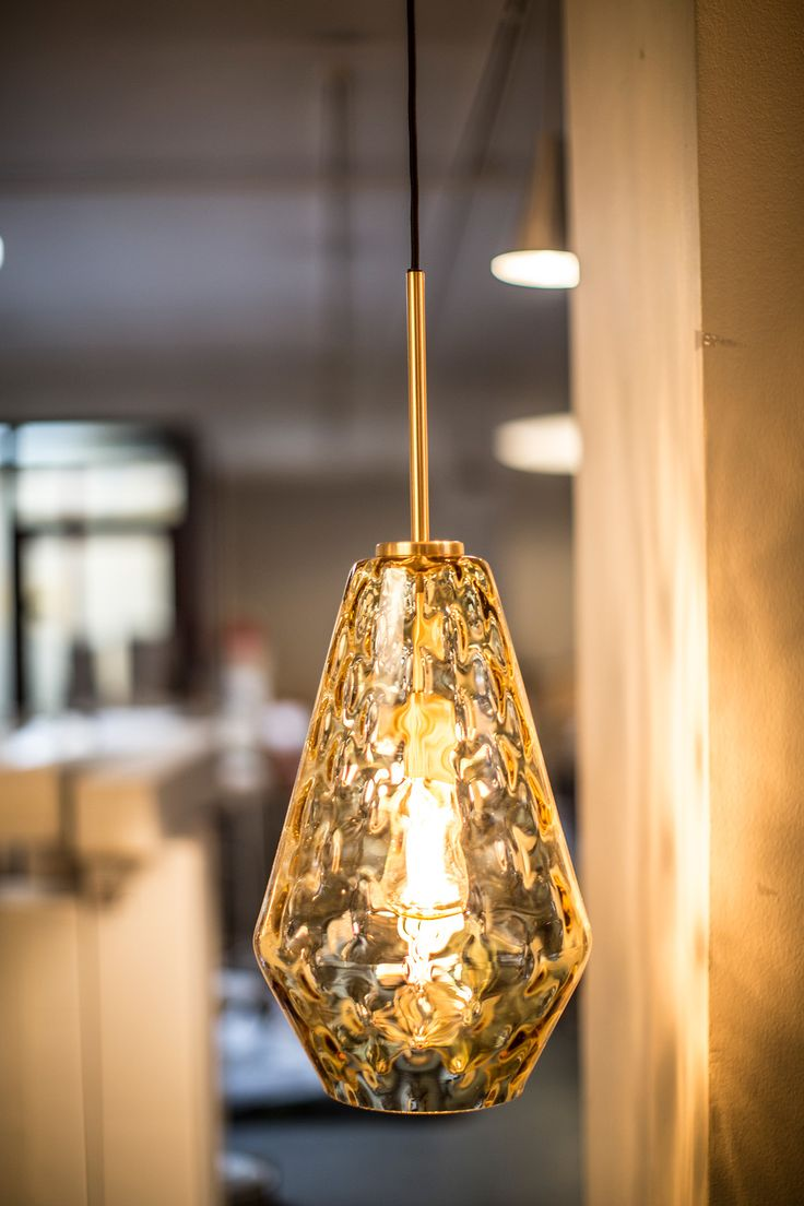 Palazzo glass pendant by Niclas Hoflin for Rubn