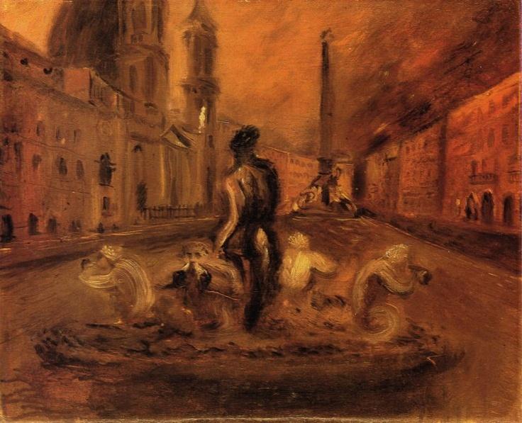 Scipione Piazza Navona 1930