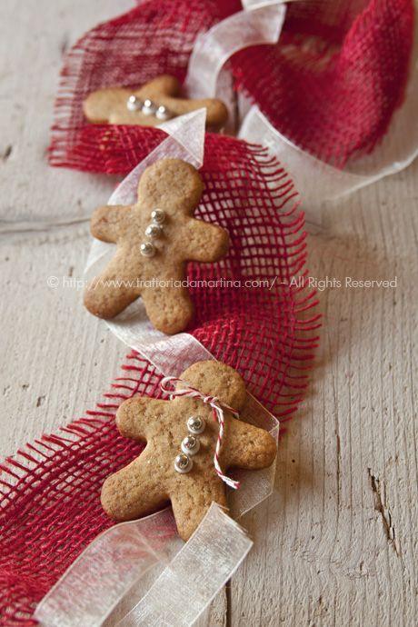 Idea #4 per regalini di Natale: gingerbread man o omini pan di zenzero all'arancia - Trattoria da Martina - cucina tradizionale, regionale ed etnica