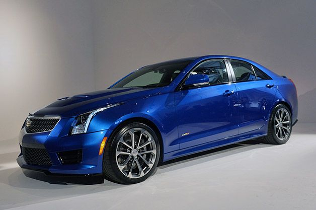 Cadillac's ATS-V is a 455-horsepower luxury rocketship ready to challenge Europe in the spring of 2015.