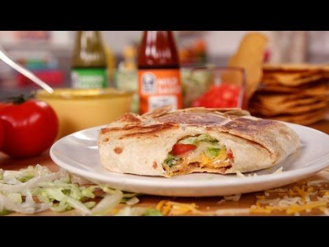 Homemade crunch wrap supreme - YouTube
