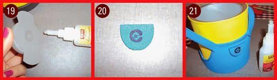 Lembrancinha Minions EVA porta doces de latinha – Artesanato Brasil