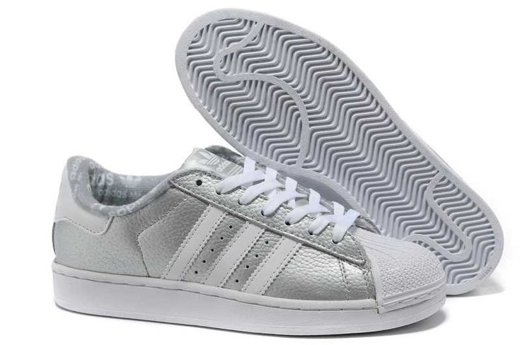 replica best brand adidas superstar ii limit offer leather shoes silver white womens sneaker. Black Bedroom Furniture Sets. Home Design Ideas
