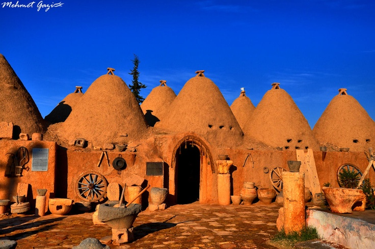 Houses of Harran, Turkey