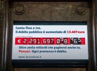 Sine.ClaV.is: Il debito pubblico è una truffa. E l'Istituto Brun...