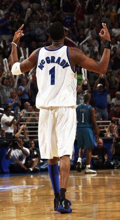 My favorite NBA player is Tracy Mcgrady.