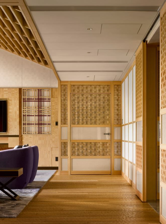 Presidential Suite Of The Four Seasons Kyoto By HBA Design.