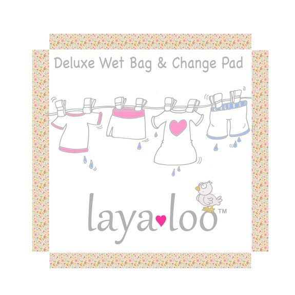 Create beautiful packaging for baby products company Layaloo.  Deluxe Wet Bag & Change Pad