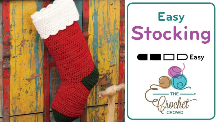 No Fooling! The Quick & Easy Christmas Stocking is just as it's promised. It is truly quick and easy!