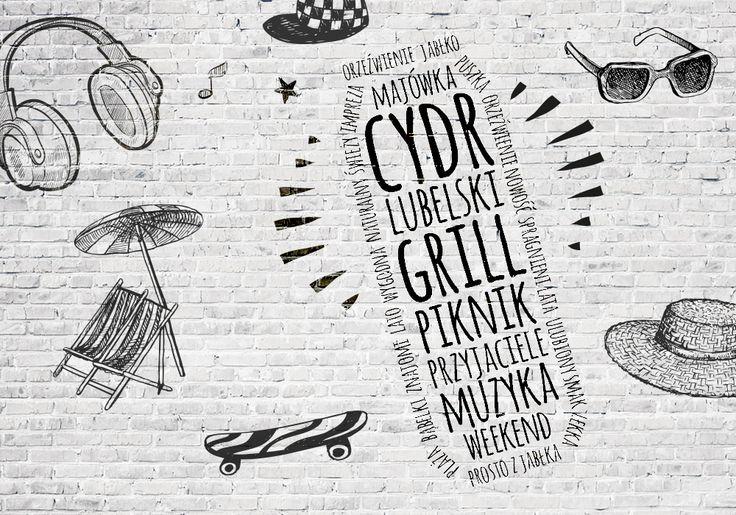 Grafika na FB #cydrlubelski #cydr #cydrujemy #ambra #prostozjabłka #imprezowo #spragnienilata #zacydrowani #polskicydrnaturalny #pychota #omnomnom