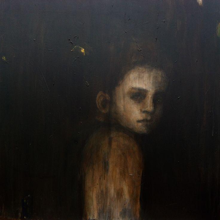 Cecilie Nyman. Through white rain, 2016-2017. 80 x 80 cm.