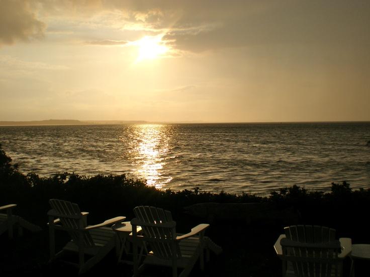 … beautiful dusk at Sommer-Café Rankwitz/Isle of Usedom …