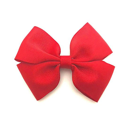 Christmas Hair Bows For Toddlers.Red Hair Bow Toddler Hair Bows Christmas Hair Bows