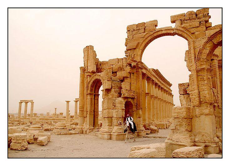 Porte de Palmyre - Palmyre, Hims, Syria