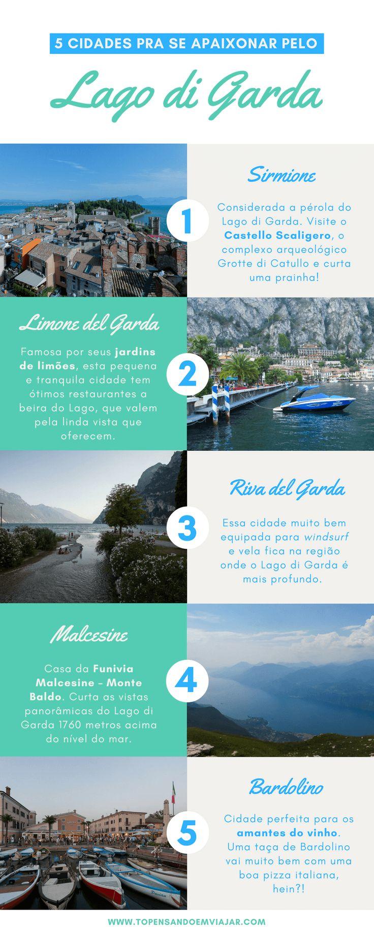 5 Cidades pra Se Apaixonar pelo Lago di Garda, na Itália - Tô Pensando em Viajar