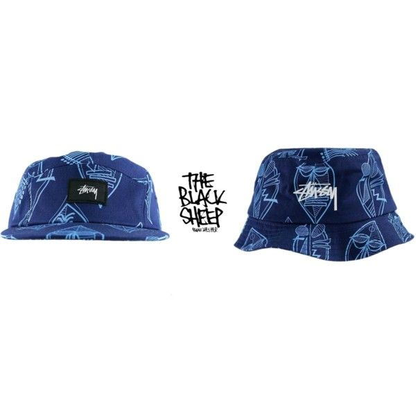 Matching 5 Panel x Bucket Hat From Stussy, Both £39.95. Visit Our Website For Plenty More Wonderful Items! by blacksheepstore on Polyvore