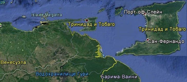 Карта Тринидад и Тобаго http://travel247.ru/country/america/trinidad-i-tobago/1079-karta-trinidad-i-tobago