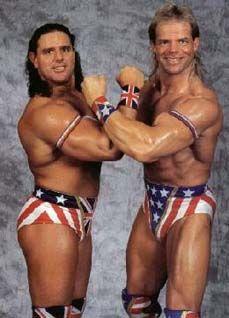 """british bulldogs wrestlers   The British Bulldog"""" Davey Boy Smith"""