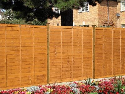 Grange Professional Lap Fence Panel Golden Brown