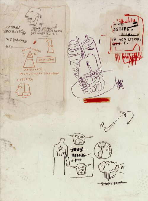 untitled, 1983, Jean-Michel Basquiat