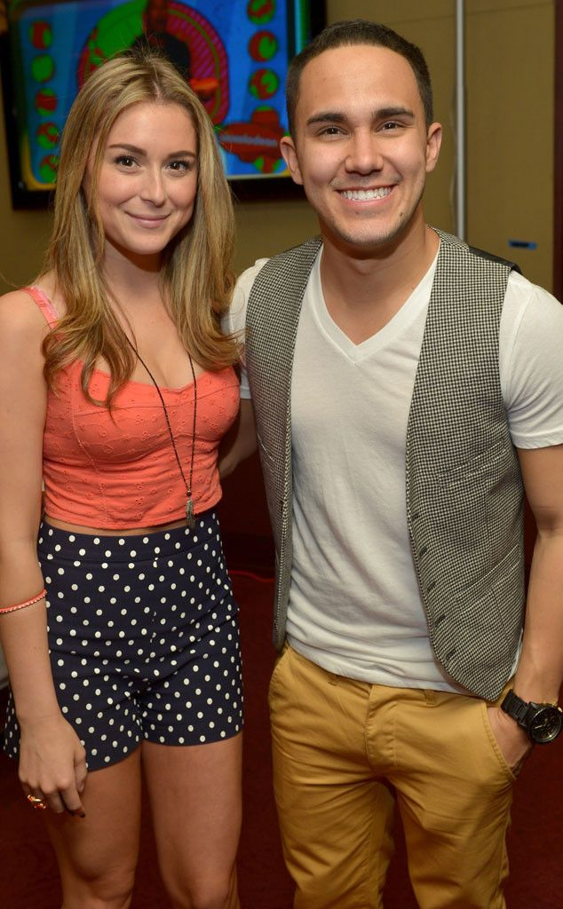 Carlos and Alexa are proud and lovely parents