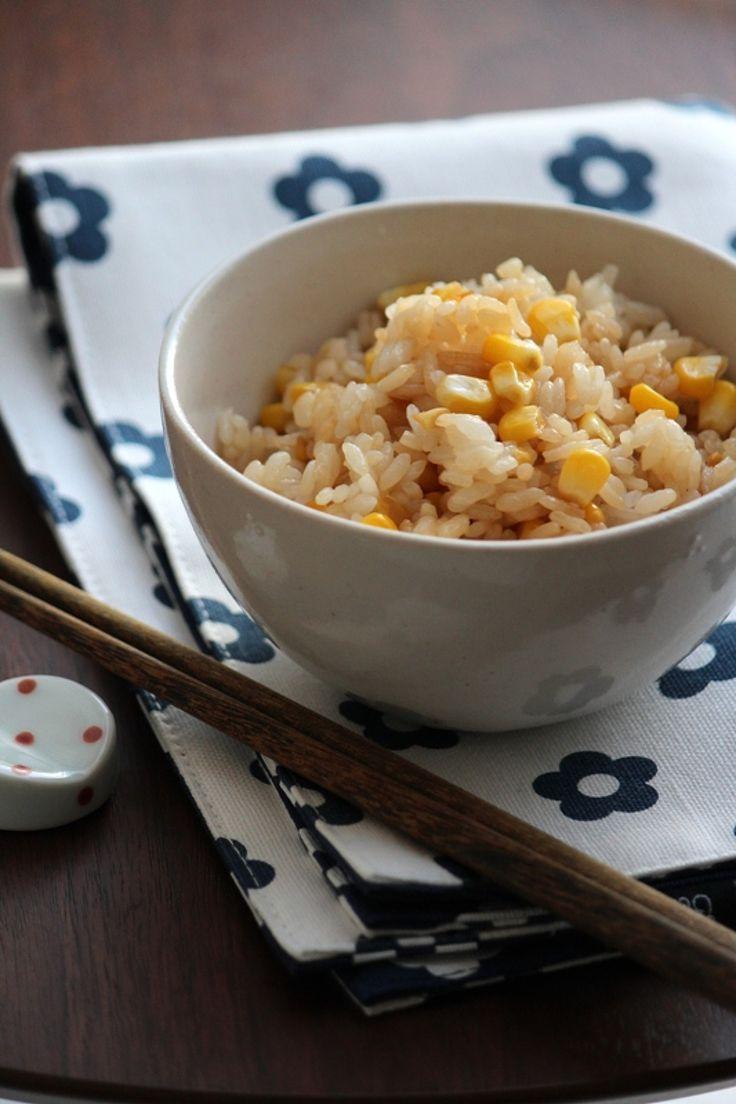 焦がしバター醤油のとうもろこし混ぜご飯。 by 栁川かおり   レシピサイト「Nadia   ナディア」プロの料理を無料で検索