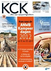 Kampeer & Caravan Kampioen (KCK) is characterised by carefully laid-out articles on camping in every sense of the word. Important areas for attention of the editors are camping tourism in the Netherlands & abroad, and information/news on the technical aspects of camping equipment. The editorial style is pleasing, sometimes critical - but always entertaining. Once a year, KCK includes special offers such as route maps, booklets and a filing system for campsites.