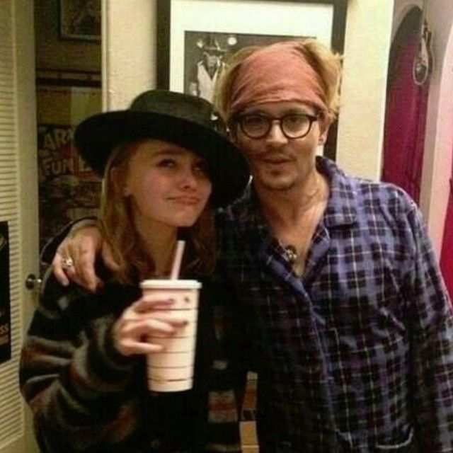 Johnny Depp Lily Rose depp