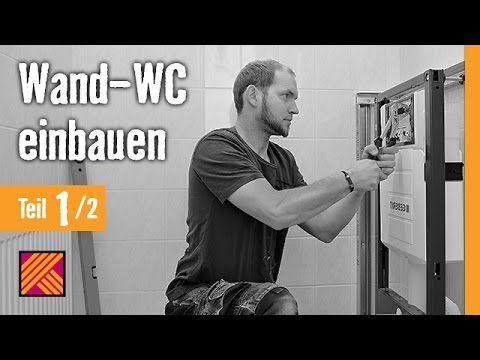Version 2013 Wand-WC einbauen - Kapitel 1: Vorwandelement einbauen | HORNBACH Meisterschmiede - YouTube