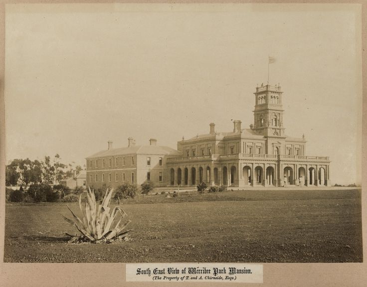 South East View of Werribee Park Mansion