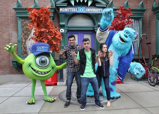 Disney Channel Stars Kick Off Monstrous Summer at Disney Parks