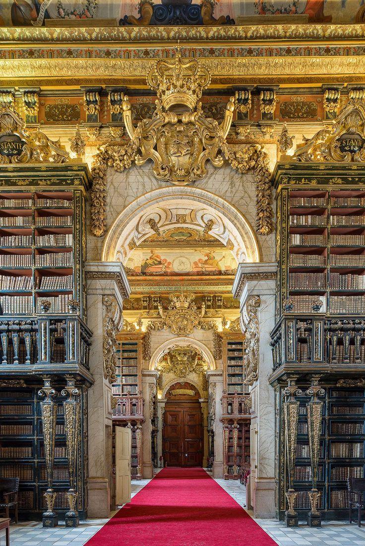 Entrance, Biblioteca Joanina 1