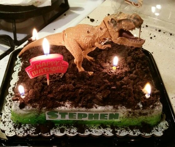 Jurassic World Theme Cake