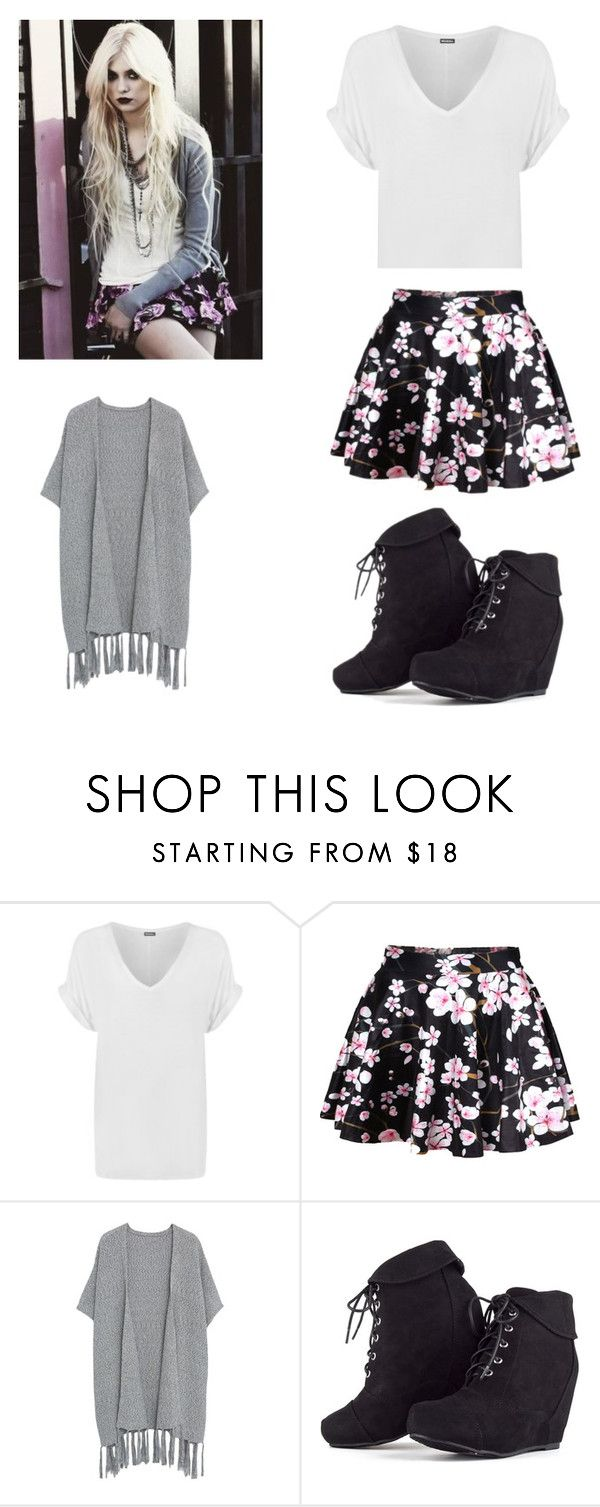 """""""Taylor momsen style Steal"""" by naseyroyal ❤ liked on Polyvore featuring WearAll and Violeta by Mango"""