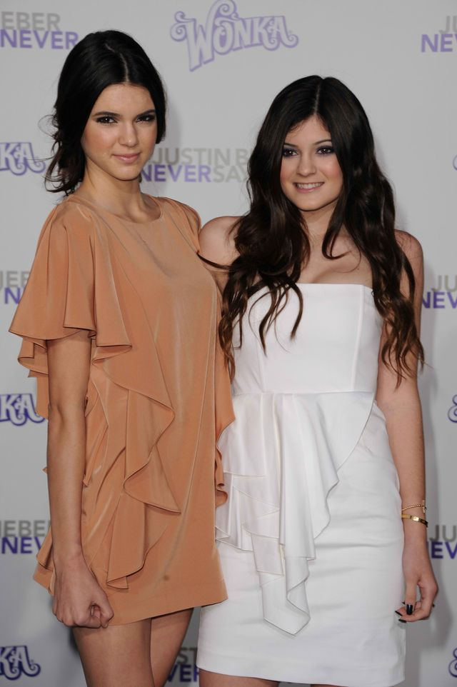Kendall and Kylie Jenner on the Red Carpet: The Jenner Sisters in Soft Ruffles
