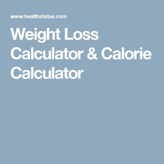 Weight Loss Calculator & Calorie Calculator
